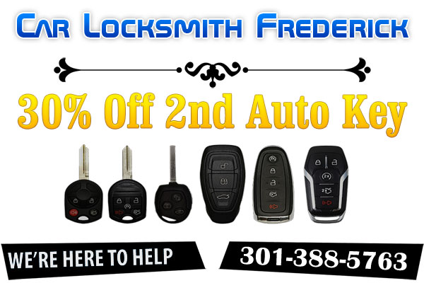Car Locksmith Frederick Coupon